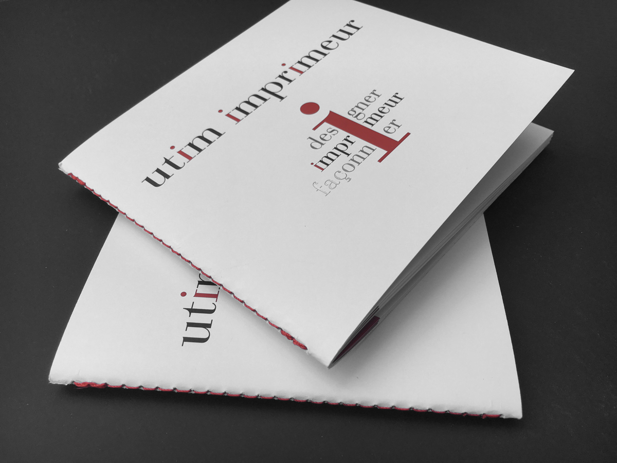 Brochure type Singer UTIM